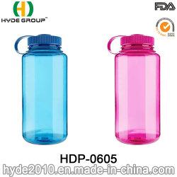 bottiglie di acqua di plastica di 500ml/650ml/800ml Tritan con la bocca larga (HDP-0605)