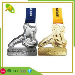 Noite de futebol religioso executar a concorrência Skoda Velotorun Medalhão Award (269)