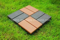 Piscina do intertravamento WPC DIY Azulejos do piso de madeira de borracha/desporto chão de plástico