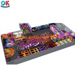 Los niños juegos Ok juegos comerciales en interiores de los juegos para niños Parque de Atracciones de equipos de juego