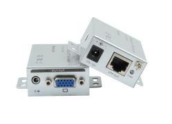 100m UTP VGA Extender avec stéréo 3,5 mm
