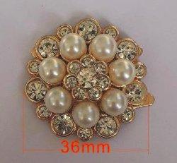 Pearl Diamond Schnalle, Schuh Blume Design, für Schuhtasche, Mode,