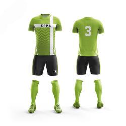 Nouveau modèle personnalisé de SUBLIMATION Maillot de soccer de palangre noir