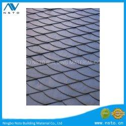 Schwarzer natürlicher Steindach-Schiefer für Wand-Fliese
