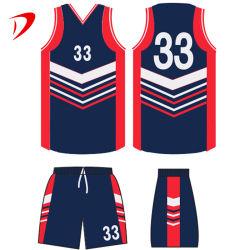 Hacer tu propio diseño de camisetas de Baloncesto Jersey camisetas para la Universidad West fresco con la camiseta sin mangas de poliéster Reversible personalizado personalizado nuevo uniforme de baloncesto