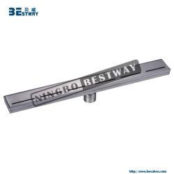 Scolo di pavimento lineare della stanza da bagno dell'acciaio inossidabile 304 per il servizio degli S.U.A.