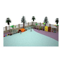 Gran Jardín de Niños gimnasio de la selva a los niños Capacitación Sensorial el área de juego con marcos de escalada