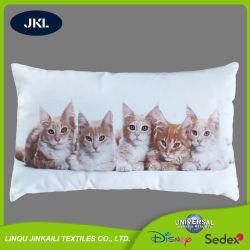 Impression numérique farcies oreiller moelleux Soft coussin arrière avec des animaux