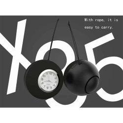 2019 새 모델 360 서라운드 사운드 Bluetooth 자명종 무선 휴대용 스피커 X35