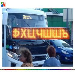 P7.62-16X96y Semi-Outdoor deux lignes de texte Message émouvant LED signe de bus RS485/l'écran LED de la communication USB