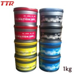 Sublimation-Offsettinte für Litho Drucken-Maschinen-und Wärme-Presse-Maschinen-Farben-Drucken-Fahnen-Markierungsfahne