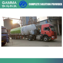 China maakte tot de Molen van het Voer van de Economie de BulkAanhangwagen van de Tankwagen van het Voer van de Lading voor het Vervoer van het Voer