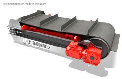 Ширина ремня 1000мм подвеска магнитный сепаратор на ленточный транспортер для утилизации мусора