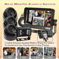 نظام كاميرا الرجوع للخلف للشاشة الرباعية للسيارة (DF-7373103)