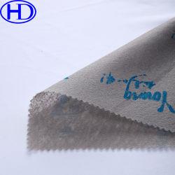El logotipo impreso en color gris aguja Nonwoven Fabric