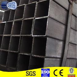 Le carbone commune soudé 100X100 du tube de corps creux en acier carré (JCS-08)