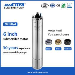 Mastra Eg 6 pulgadas 2.2-45kw solares de refrigeración de aceite Trifásico AC motores bombas de agua del motor de bomba sumergible