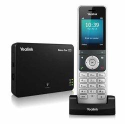 Yealink W56P DECT IPの電話小企業のためのコードレスVoIPの解決
