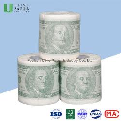 Ulive Factory Price مضحك جديد طباعة التواليت لفة ورق