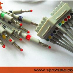 GE医学EKGの導線ケーブル