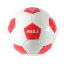 PVCカバーMachine-Stitchedフットボールの/Soccerの防水カスタムロゴOEM
