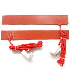 El mejor precio y flexible de alta calidad correa de la calefacción de caucho de silicona