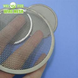 Mosquiteiro/metal macio de alta qualidade 316 em aço inoxidável Malha de arame/rede de filtro industrial malha de aço malha entrançada Pano