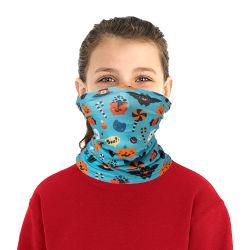 La Sun-Prova del cotone di Halloween scherza la sciarpa di collo della guaina del collo