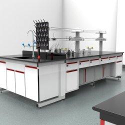 공장 저가 병원 철강 화학 도매 바이오스틸 C-프레임 싱크대/가 있는 중앙 실험실 가구