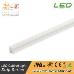 Indicatore luminoso di striscia lineare lineare di alluminio incluso LED della lampada di profilo LED della barra chiara del Governo LED per l'armadietto YL-T10-B della vetrina del guardaroba dell'armadio