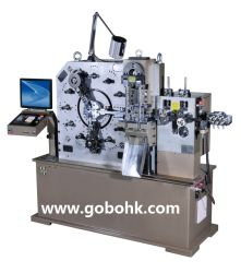 0.6-2.5mm CNC Spring Maschine-Coiling, Bending, Punching, Cutting, Extension, Forming Spring Machine