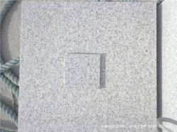 Abordable G358 de la Chine Panda blanc/gris/noir/brun granit pour plancher intérieur Mur à carreaux de la taille de coupe