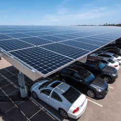 1MW ソーラーパネル用の新設計ソーラーマウントサポートシステム カーポート