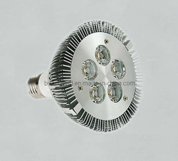 Dirigé par l'ampoule (PAR30 5x1W)