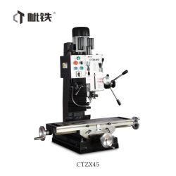 Handmatige boor- en boormachine Ctzx45 Mills Boren Metaal Lathe Voor DIY en Hobby gebruik met CE van Ctmach Factory China