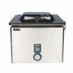 Macchina per confezionamento sottovuoto termoformato per alimenti