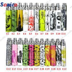 650/900/1100mAh Reusable EGO E Cig Battery, Colorful Battery