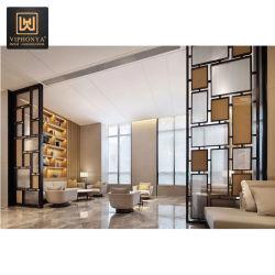 Acero inoxidable con corte láser Carved/ Balcón de la pantalla metálica perforada de Villa