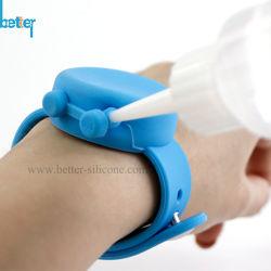 Het Desinfecterende middel van de Hand van Antibacteria/Silicone Sanitiser/Rubber Wearable Armband/Manchet voor kiem-Bestrijdende de Band van de Pols