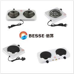 Chauffage électrique de plaque chauffante unique cuisinière