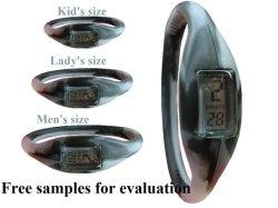 판다를 가진 유행 손목 시계는 착색한다 소맷동 (FW-207)를