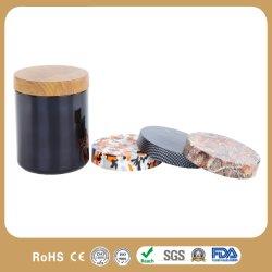 30oz désinfectant pour la santé en plastique poudre pot de stockage en plastique flacon en PE