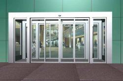 Puerta de seguridad del banco de puerta corrediza de vidrio automática Puerta blindada
