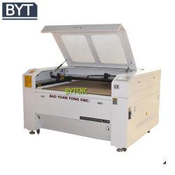 Bytcnc laser CO2 haut de gamme en cuir de la machine de coupe
