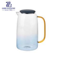 Оптовая торговля подарок поощрения боросиликатного стекла 1,2 л Pyrex стекло кувшин с сплошным цветом стекла (ГБ-JPB631161200)