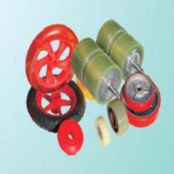 PU 코팅, PU 강선, 롤러, PU 롤러, 폴리우레탄 바퀴