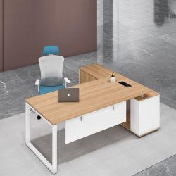 Оптовая торговля роскошный письменный стол современной панели деревянная мебель исполнительный начальник конструкторского бюро в таблице для домашнего компьютера