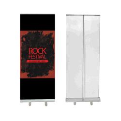 Gute Qualität rollen oben Bildschirm-Fahnen-Standplatz, hochziehen Fahnen-Ausstellungsstand in China