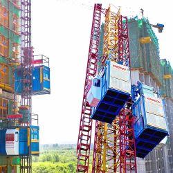 CE 승인 건물 건설 엘리베이터 작업 자재 인양 승객 호이스트