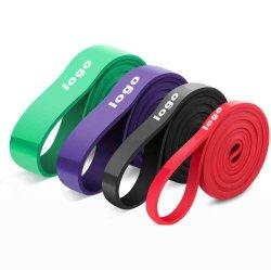 O logotipo personalizado puxe a banda de Assistência 2080*45*13 mm faixa elástica treino/Banda de exercício